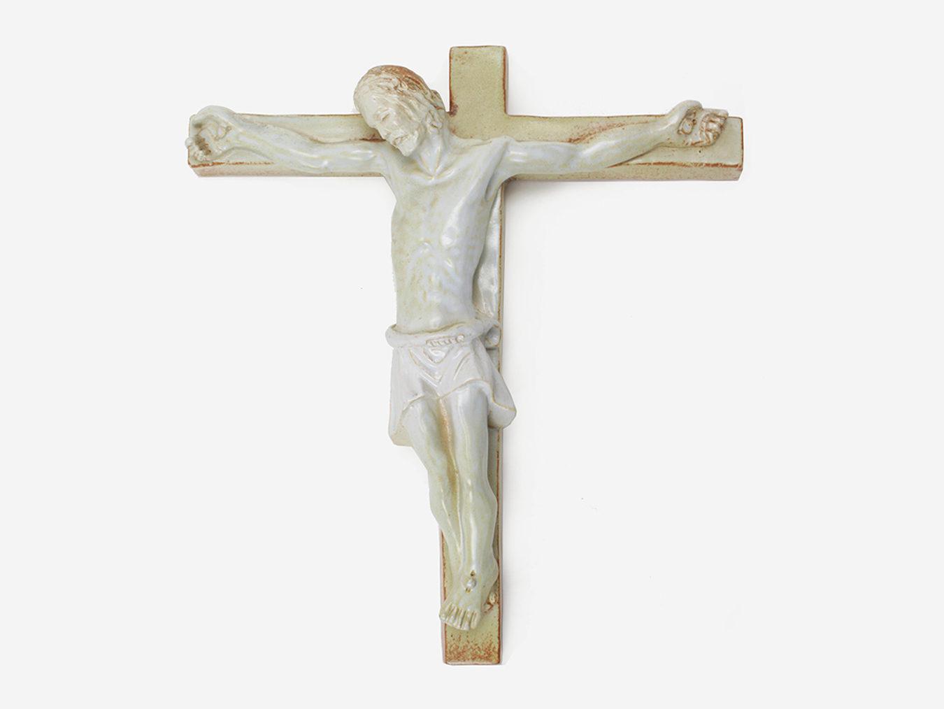 keramisch kruisbeeld