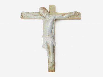 ceramic crucifix