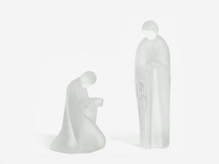 christinenhutte crystal figurine